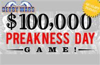 Qualify Today for DerbyWars' $100,000 Preakness Day Contest!