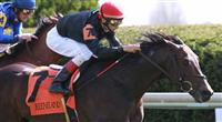 14 April 2011. #7 Boisterous and John Velazquez win the 7th race at Keeneland.