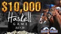 Derby Wars $10,000 Haskell Game
