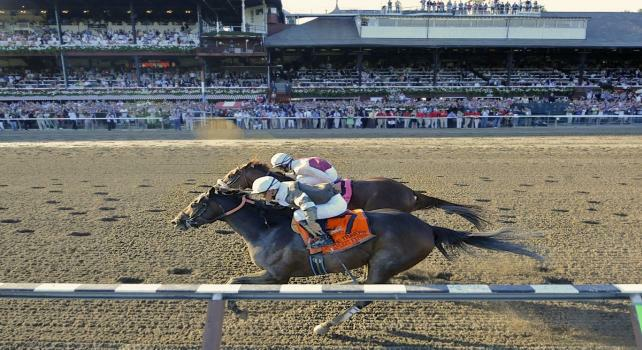 10 August 28: Afleet Express (no. 7), ridden by Javier Castellano and trained by James Jerkens, wins the 141st running of the grade 1 Travers Stakes for three year olds at Saratoga Race Track in Saratoga Springs, New York.