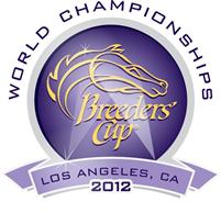 Breeders' Cup 2012 logo.