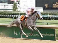 Jockey Calvin Borel rode Gray Hart's Girl to 7 3/4-length triumph in the fourth race on Friday, June 4, 2010 at Churchill Downs to secure his 1,000th career victory at Churchill Downs.