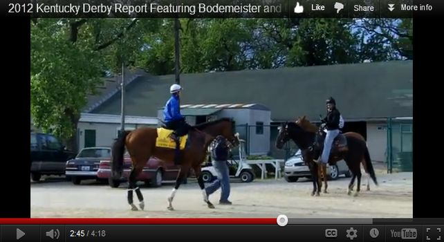 2012 Kentucky Derby Report - Union Rags