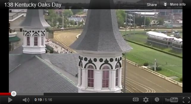 2012 Kentucky Oaks Video