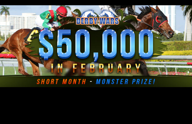 DerbyWars $50,000 February Game!