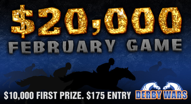 DerbyWars $20K February Game