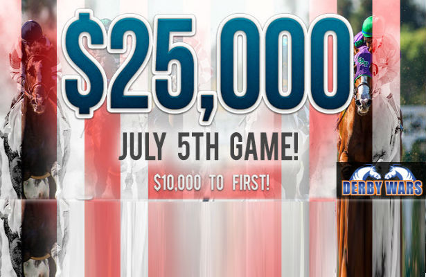 DerbyWars $25K July Game
