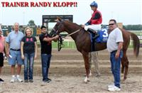500th win for trainer Randy Klopp