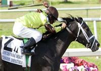 March 2010: Mission Impazible and Rajiv Maragh win the Louisiana Derby at the Fair Grounds in New Orleans, La.
