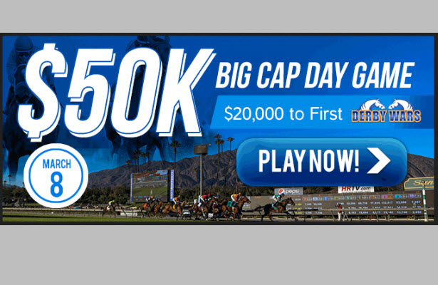 DerbyWars $50K Big Cap Day Game, March 8 2014