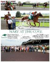 Mary At The Cove wins Maiden Special Weight at Keeneland 2013.