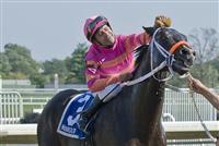 09-25-10: Sweet Ducky, Joe Bravo up, wins the Garden State Stakes.