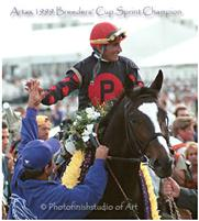 "Artax - 1999 Breeders"" Cup Sprint Champion"