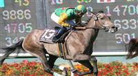 05 July 2009: Well Monied and jockey Joel Rosario in the American Oaks (GI) at Hollywood Park in Inglewood, CA .