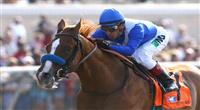 August 4th 2010: Bench Points and Rafael Bejarano win the 59th running of the Graduation Stakes at Del Mar Race Track in Del Mar CA.