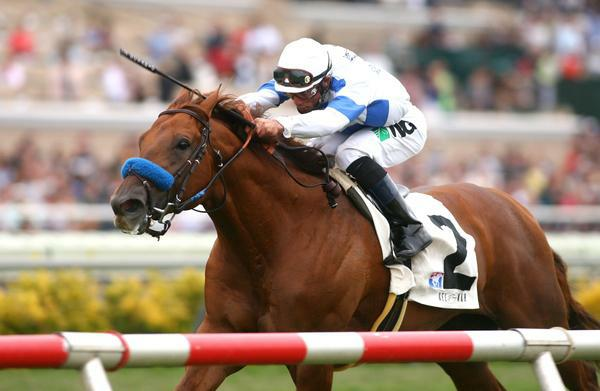 Sidney's Candy wins the 2010 La Jolla at Del Mar.