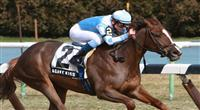Agave Kiss wins the Cicada at Aqueduct
