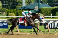 Arrogate Breaks the Track Record Winning the 2016 Travers by 13 1/2