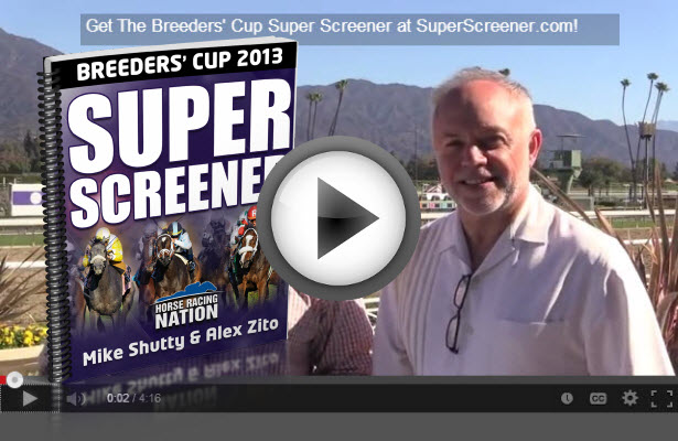 Super Screener from Santa Anita with Breeders' Cup Juvenile Turf Picks!