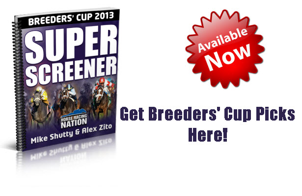Breeders' Cup 2013 Super Screener Now Available