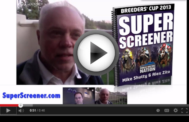 Super Screener 2013 Breeders' Cup Sprint