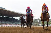 Beholder repeats in Zenyatta Stakes