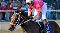 Bern Identity wins the Sanford Stakes at Saratoga, July 2012
