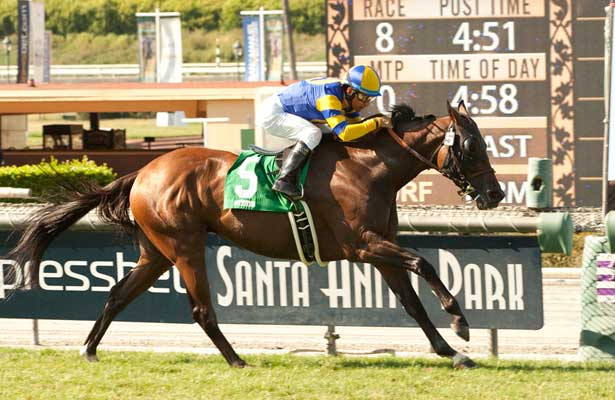 Big Kick wins 2014 San Juan Capistrano.