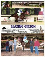 Maiden Win, December 19, 2009
