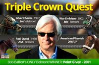 The Triple Crown Quest of Bob Baffert