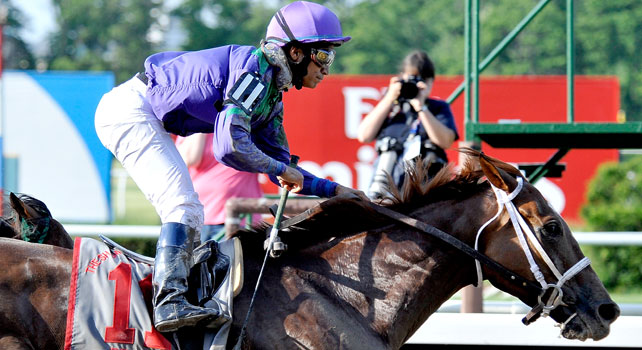 Bribon takes the 2009 Met Mile