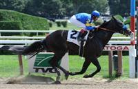 Bulldogger wins at Saratoga (8-14-10).