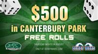 Canterbury Park Free Rolls