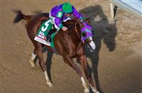 May 3, 2014: California Chrome, ridden by Victor Espinoza, wins the 140th Kentucky Derby on Kentucky Derby Day at Churchill Downs in Louisville, KY. Jon Durr/ESW/CSM