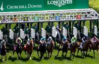 Start of the 2014 Churchill Distaff Turf Mile S