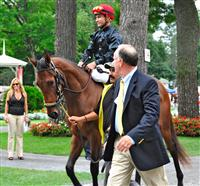 2yr. old filly, first time starter at Saratoga
