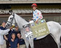 Cornelio Velasquez wins 3,000th race.