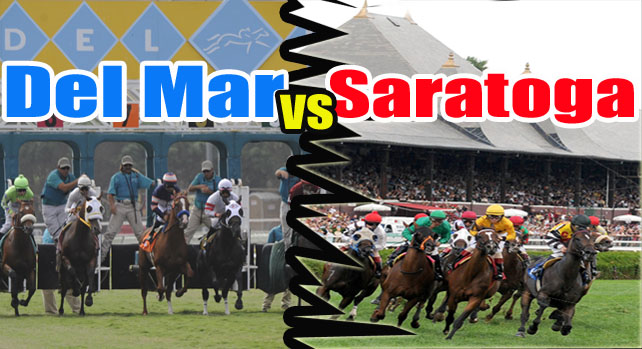 Del Mar vs Saratoga - Point/Counterpoint