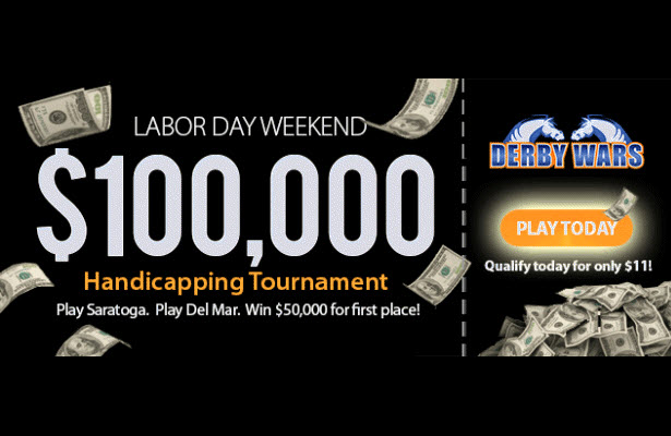DerbyWars $100,000 Game on Labor Day Weekend!