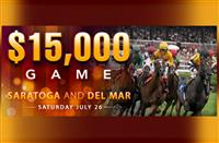 DerbyWars $15,000 Saturday Game features Saratoga, Del Mar