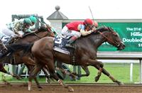 Deceptive Vision rallies to win Doubledogdare Stakes