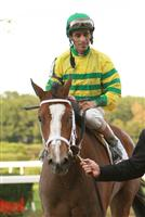 Devil May Care after capturing the 2009 Frizette with John Velazquez up