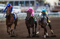 Dortmund wins a thriller in the Los Alamitos Futurity