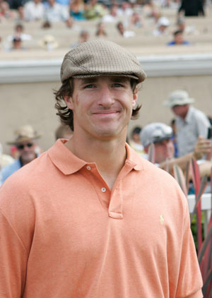 Drew Brees at Del Mar