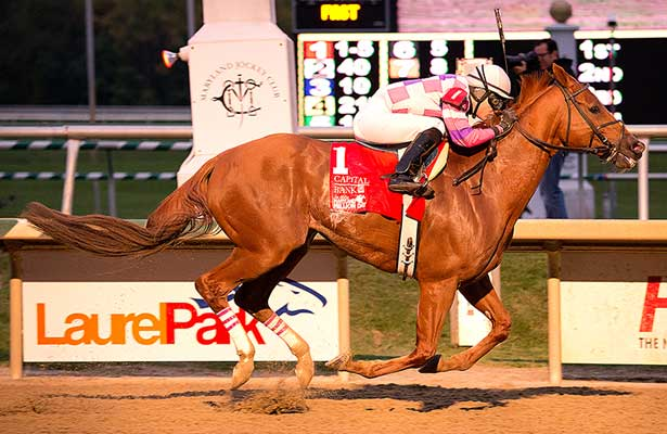 Eighttofasttocatch wins 2013 MD Million Classic