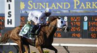 Endorsement wins the 2010 Sunland Derby