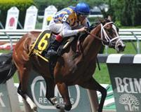 Fashion Alert winning the Tremont at Belmont Park on June 15, 2014.
