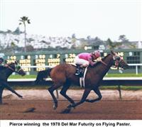 Flying Paster wins the 1978 Del Mar Futurity