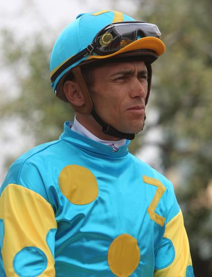 Jockey Garrett Gomez