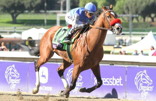 Goldencents wins 2013 BC Dirt Mile